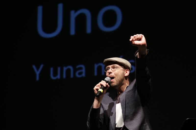at Poezie en Voz Alta, Mexico City 2016. Foto: Natali Gaia