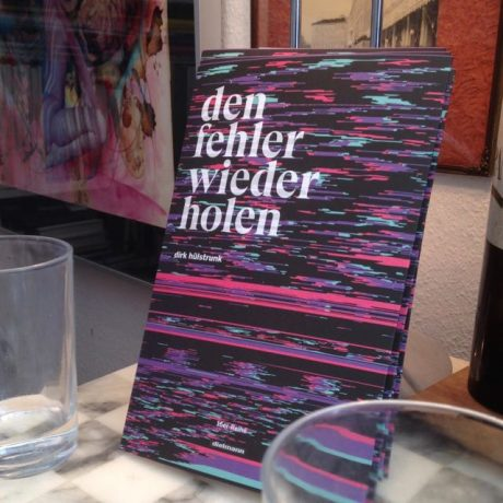 New Poetry Book – Den Fehler wiederholen (repeating the mistake)