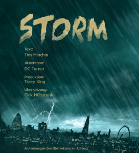 STORM – Graphic Novel / Spoken Word Performance – Live Stream