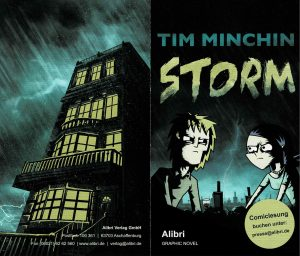 Storm – by Tim Minchin – Graphic Novel with my translation