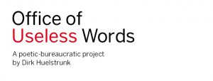 Office of useless words – new website