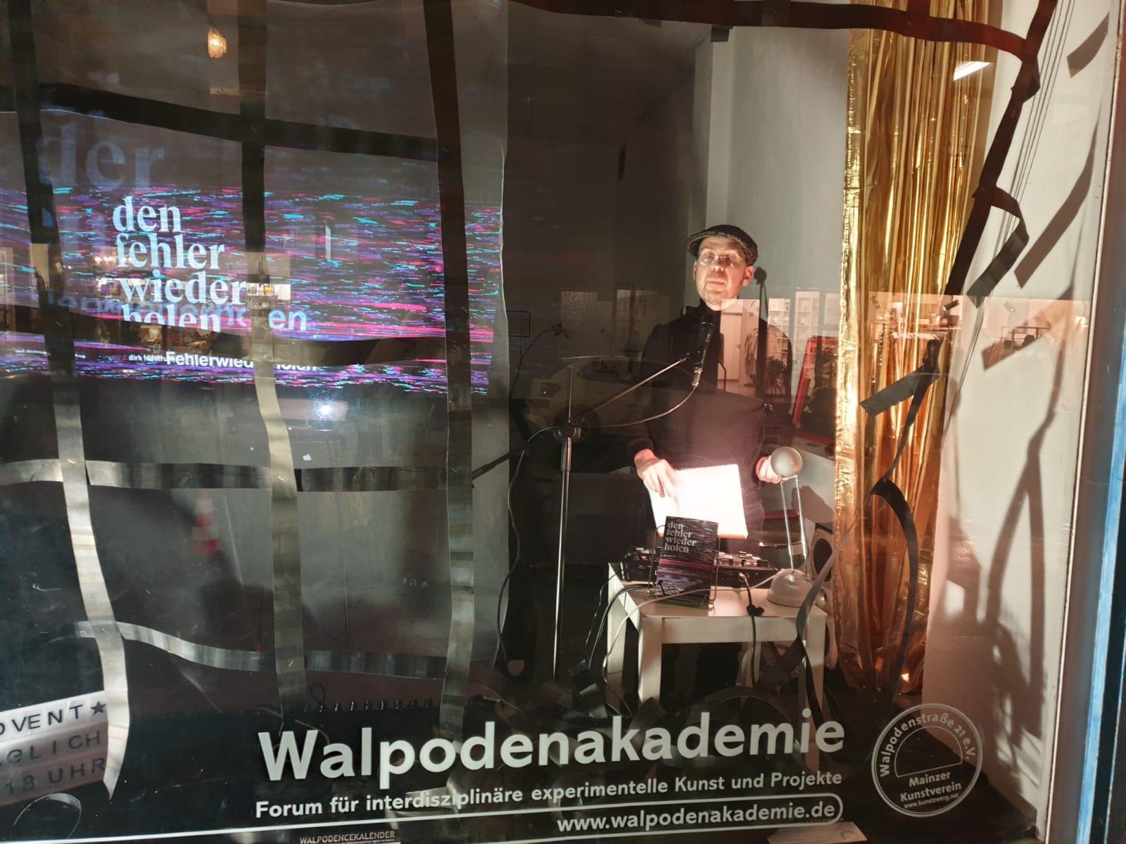 Den Fehler wiederholen – Live Video, Walpodenakademie 15.12.2020